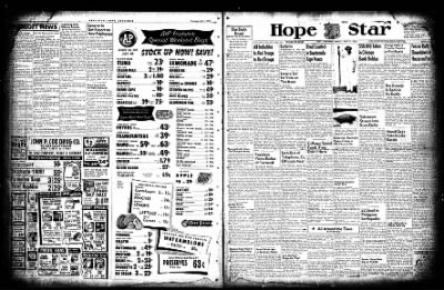 Hope Star from Hope, Arkansas on July 2, 1954 · Page 1