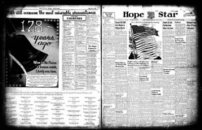 Hope Star from Hope, Arkansas on July 3, 1954 · Page 1