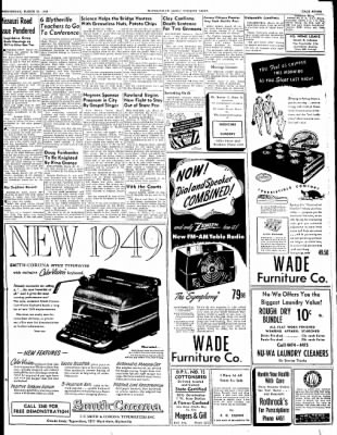 The Courier News from Blytheville, Arkansas on March 30, 1949 · Page 7
