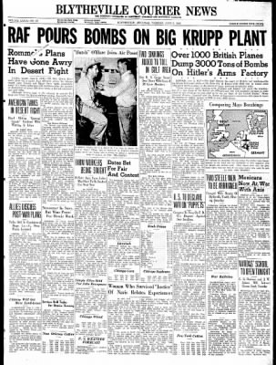 The Courier News from Blytheville, Arkansas on June 2, 1942 · Page 1