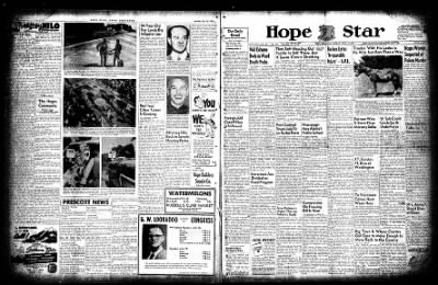 Hope Star from Hope, Arkansas on July 13, 1954 · Page 1