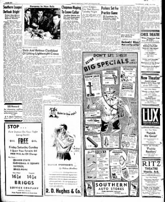 The Courier News from Blytheville, Arkansas on April 11, 1946 · Page 6