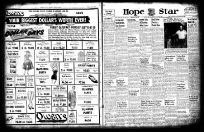 Hope Star from Hope, Arkansas on July 15, 1954 · Page 36