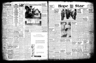 Hope Star from Hope, Arkansas on July 19, 1954 · Page 1