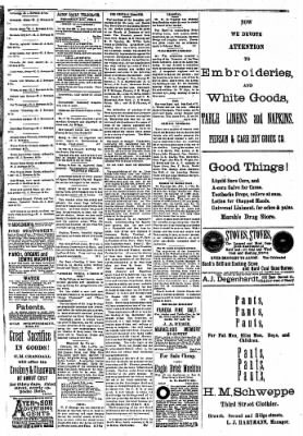 Alton Evening Telegraph from Alton, Illinois on February 2, 1887 · Page 3