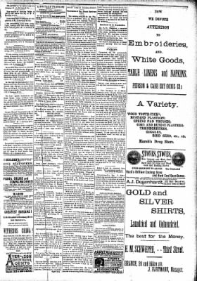 Alton Evening Telegraph from Alton, Illinois on March 1, 1887 · Page 3