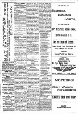 Alton Evening Telegraph from Alton, Illinois on May 28, 1887 · Page 3