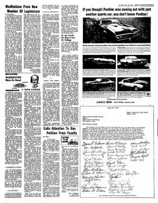 The Algona Upper Des Moines from Algona, Iowa on February 23, 1967 · Page 29