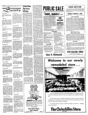 The Algona Upper Des Moines from Algona, Iowa on March 2, 1967 · Page 11
