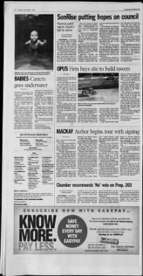 Arizona republic from phoenix arizona on october 1 2004 page 229 the largest online newspaper archive m4hsunfo