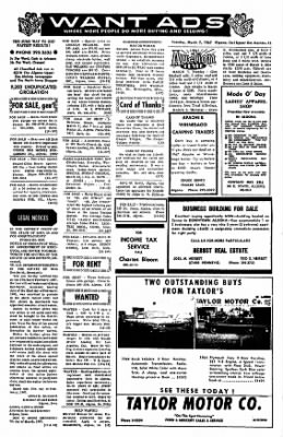 The Algona Upper Des Moines from Algona, Iowa on March 7, 1967 · Page 18