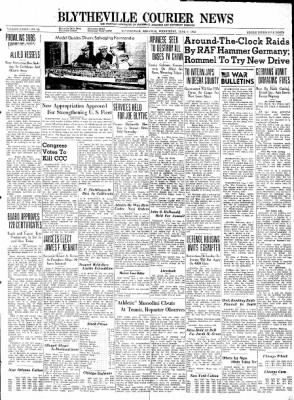 The Courier News from Blytheville, Arkansas on June 3, 1942 · Page 1