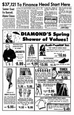 The Algona Upper Des Moines from Algona, Iowa on April 11, 1967 · Page 21