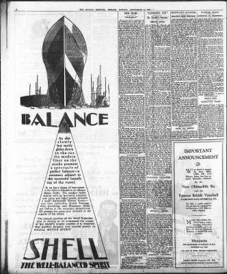 The Sydney Morning Herald from Sydney, New South Wales, Australia on September 2, 1929 · Page 8