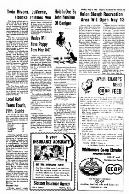 The Algona Upper Des Moines from Algona, Iowa on May 9, 1967 · Page 14