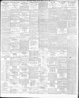 the sydney morning herald from sydney new south wales on june 21 Operations Officer Resume the sydney morning herald from sydney new south wales on june 21 1912 page 9