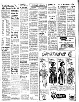 The Algona Upper Des Moines from Algona, Iowa on May 11, 1967 · Page 8