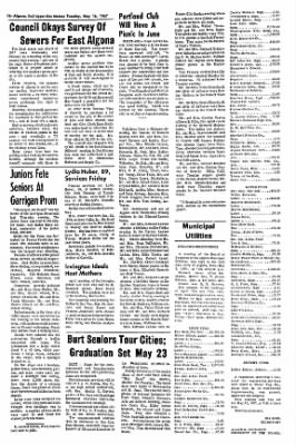 The Algona Upper Des Moines from Algona, Iowa on May 16, 1967 · Page 23