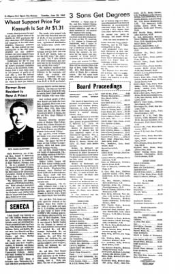 The Algona Upper Des Moines from Algona, Iowa on June 20, 1967 · Page 6