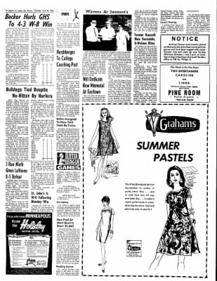 The Algona Upper Des Moines from Algona, Iowa on June 29, 1967 · Page 23