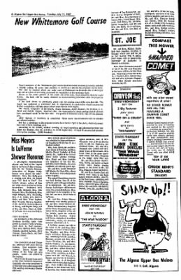The Algona Upper Des Moines from Algona, Iowa on July 11, 1967 · Page 12