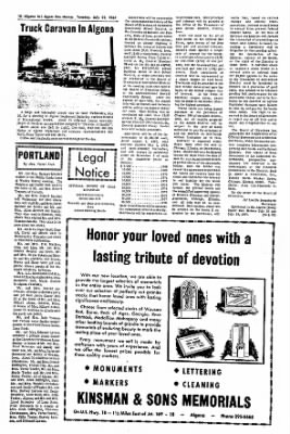 The Algona Upper Des Moines from Algona, Iowa on July 25, 1967 · Page 15