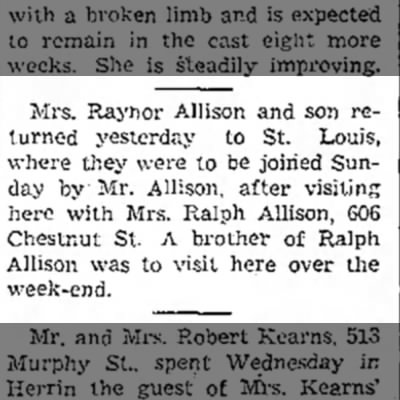 Raynor Allison