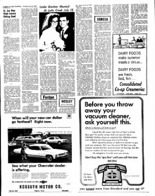 The Algona Upper Des Moines from Algona, Iowa on July 27, 1967 · Page 42