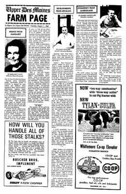 The Algona Upper Des Moines from Algona, Iowa on August 1, 1967 · Page 11