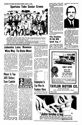 The Algona Upper Des Moines from Algona, Iowa on August 1, 1967 · Page 13