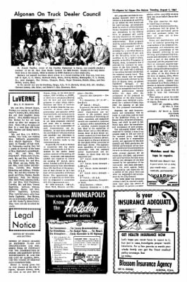 The Algona Upper Des Moines from Algona, Iowa on August 1, 1967 · Page 15