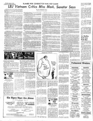 The Algona Upper Des Moines from Algona, Iowa on August 3, 1967 · Page 9