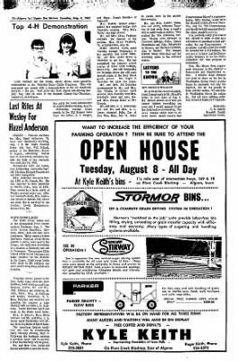 The Algona Upper Des Moines from Algona, Iowa on August 8, 1967 · Page 22