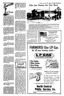 The Algona Upper Des Moines from Algona, Iowa on August 29, 1967 · Page 10