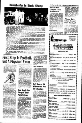 The Algona Upper Des Moines from Algona, Iowa on August 29, 1967 · Page 18