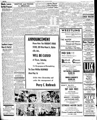 The Courier News from Blytheville, Arkansas on April 13, 1946 · Page 6