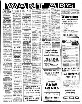 The Algona Upper Des Moines from Algona, Iowa on September 14, 1967 · Page 9