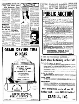 The Algona Upper Des Moines from Algona, Iowa on September 14, 1967 · Page 15
