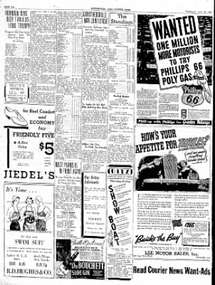 The Courier News from Blytheville, Arkansas on May 28, 1936 · Page 6