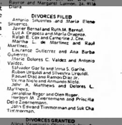 El paso herald post from el paso texas on february 27 1975 page 50 herbert martin zwernemann divorce filed el paso herald post 27 feb 1975 p solutioingenieria Images