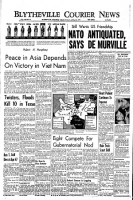 The Courier News from Blytheville, Arkansas on April 25, 1966 · Page 1