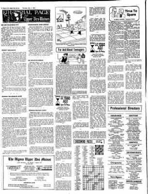The Algona Upper Des Moines from Algona, Iowa on November 2, 1967 · Page 14