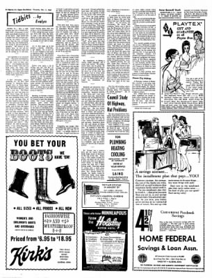 The Algona Upper Des Moines from Algona, Iowa on November 2, 1967 · Page 19