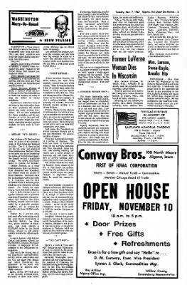 The Algona Upper Des Moines from Algona, Iowa on November 7, 1967 · Page 5