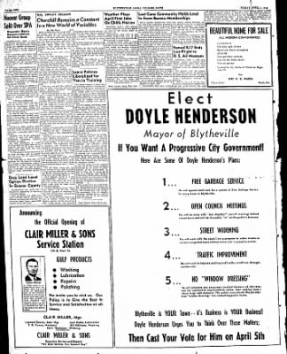 The Courier News from Blytheville, Arkansas on April 1, 1949 · Page 2