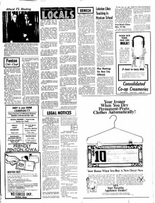 The Algona Upper Des Moines from Algona, Iowa on November 16, 1967 · Page 15