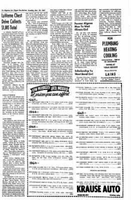 The Algona Upper Des Moines from Algona, Iowa on November 28, 1967 · Page 11