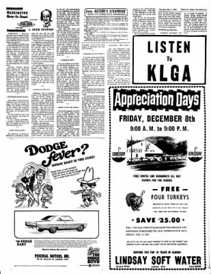 The Algona Upper Des Moines from Algona, Iowa on December 7, 1967 · Page 18