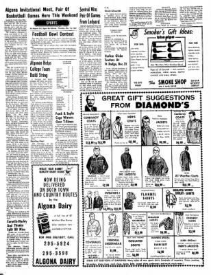 The Algona Upper Des Moines from Algona, Iowa on December 14, 1967 · Page 11