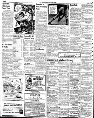 The Rhinelander Daily News from Rhinelander, Wisconsin on April 24, 1945 · Page 6